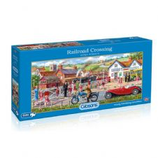 Railroad Crossing - 636 Piece Jigsaw Puzzle